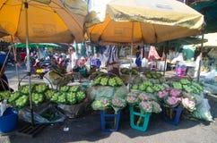 花市场在泰国 图库摄影
