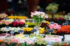 花市场 免版税库存照片