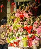 花市场 图库摄影
