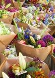 花店,看见在阿姆斯特丹,荷兰 免版税库存图片