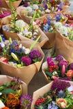 花店,看见在阿姆斯特丹,荷兰 免版税库存照片