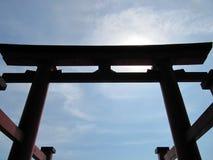 花托在日本 免版税图库摄影