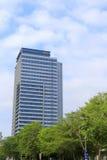 花旗集团塔是一个现代大厦 库存照片