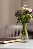 花束不同的花 库存图片