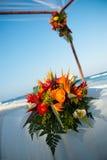 花束五颜六色的婚礼 免版税库存图片