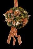 花束圣诞节装饰范围 库存照片