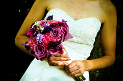 花束婚礼 库存图片