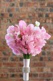 花束新娘五颜六色的粉红色 库存照片