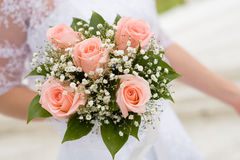 花束新娘婚礼 库存照片