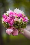 花束新娘婚礼 免版税图库摄影