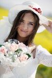 花束新娘年轻人 库存照片