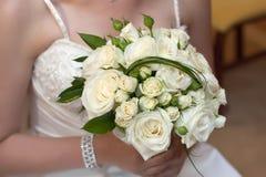 花束新娘 免版税库存照片