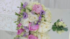 花束明亮的婚礼 影视素材