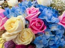 花束明亮的花照片向量 库存照片