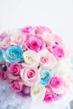 花束明亮的花照片向量 免版税图库摄影