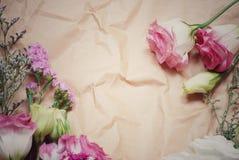 花束明亮的花照片向量 免版税库存照片
