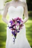 花束桃红色婚礼 库存图片
