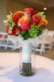 花束热带婚礼 免版税库存照片