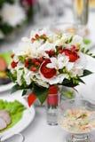 花束热带婚礼 图库摄影