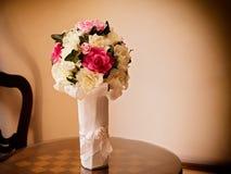 花束由纸制成 库存图片