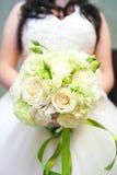 花束空白婚礼 免版税库存图片