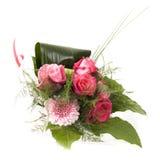 花束粉红色上升了 库存照片