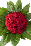 花束红色玫瑰 免版税库存图片