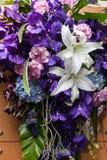 花束花的颜色 免版税图库摄影