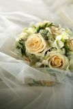 3花束重点前景婚礼 库存照片