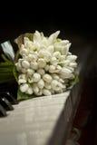 花束snowdrops 库存照片