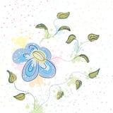 花柔和的淡色彩春天 免版税库存照片
