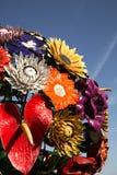 花树雕塑在利昂,法国 图库摄影