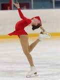 花样滑冰竞争 免版税图库摄影