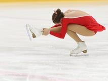 花样滑冰竞争 免版税库存照片