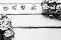 花框架在桌上的 免版税图库摄影