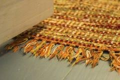 花梢地毯和地板纺织品 库存图片