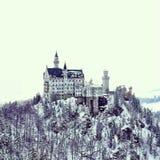花梢城堡 库存照片