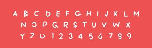 花梢字母表,标志信件,信件传染媒介abc例证字体,标志 库存例证