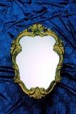 花梢框架镜子 库存照片