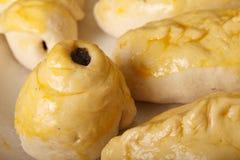 从花梢面团的饼 免版税库存照片