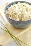 花椰菜米 能转化为酮和paleo食物 库存照片