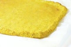 花椰菜薄饼外壳 免版税图库摄影