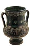 花瓶古希腊油罐 免版税图库摄影