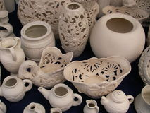 花瓶和水罐 免版税库存照片