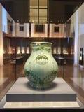 花瓶在大英博物馆里面的de巴黎看法  免版税库存图片