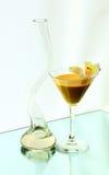 花瓶葡萄酒杯 库存图片