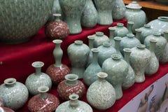 花瓶装饰 图库摄影