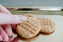 花生酱曲奇饼#2 库存图片