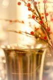 花由小珠装饰制成。 免版税库存图片