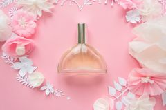 花的布置 花,芬芳,香水 免版税图库摄影
